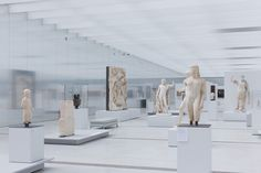 The Louvre Lens, an new outpost of the Musée du Louvre by SANAA and Imrey Culbert, opens to the public in Lens, France. Exhibition Display, Exhibition Space, Museum Exhibition, Art Museum, Sanaa Architecture, Architecture Wallpaper, Architecture Images, Cultural Architecture, Places