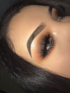 Gorgeous Makeup: Tips and Tricks With Eye Makeup and Eyeshadow – Makeup Design Ideas Makeup Eye Looks, Smokey Eye Makeup, Makeup For Brown Eyes, Cute Makeup, Eyeshadow Looks, Gorgeous Makeup, Pretty Makeup, Eyeshadow Makeup, Hair Makeup