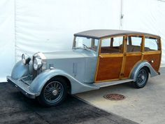 ULTIMATE WOODIE: 1933 Rolls-Royce 20/25 Shooting Brake, Body by Vincents of Yeovil
