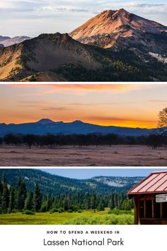 Where to stay and what to do for a great weekend in Lassen National Park California