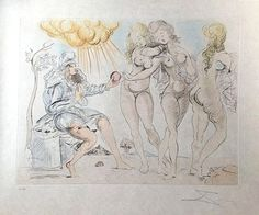 Salvador Dalí | The Judgment of Paris (1950) | Available for Sale | Artsy
