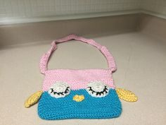 Crocheted Owl Purse - pinned by pin4etsy.com