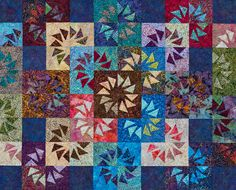Quiltworx.com is a Judy Niemeyer Qulting Company specializing in the design, publication and teaching of Foundation Paper Piecing Quilt patterns. Judy's patterns and techniques have helped thousands of quilters, of all skill-levels, produce stunning, complex quilts. Quiltworx is a quilter's mecca, offering classes, private retreats, certified instructors, educational videos and more.