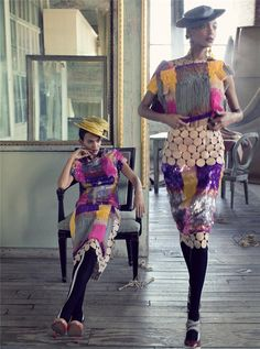 Steven Meisel, It's A Madcap World, Vogue US, February 2009