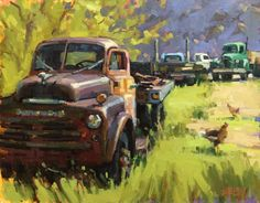 My Favorite Place to Paint Outdoors: Shelby Keefe and Rust as Eye Candy #pleinair #paintingoutdoors #landscape #painting