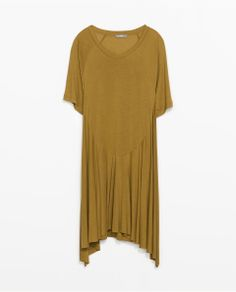 ZARA - WOMAN - ASYMMETRIC HEM DRESS
