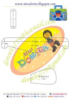 Miss Dorita portafolio niño molde 2
