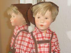 alte Käthe Kruse Puppe VIII Friedebald