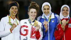 Taekwondo feminino tem pódio histórico no Rio 2016 - Olimpíada - Band.com.br