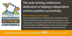 Join us at BookBaby's 2017 Independent Authors Conference Nov in Philadelphia, PA, educating indie authors on how to have a successful career in the self-publishing industry. Writing Conferences, Writers Conference, Book Festival, How To Stop Procrastinating, Start Writing, Self Publishing, Keynote, Short Stories, Presentation
