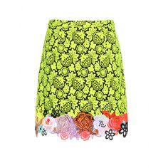 Christopher Kane - Lace miniskirt - mytheresa.com