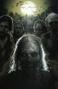 Drew Struzan's The Walking Dead poster