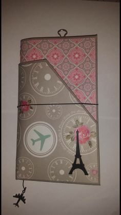 Travel Journal created by crafter  Kristy Martin.