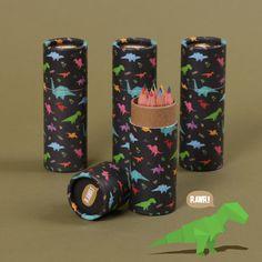 Social Media - Dinosaurier Färgpennor