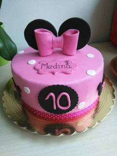 Cake for a girl with special needs