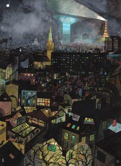 Et puis la nuit... De Brecht Evens