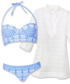 The Best Swim and Cover-Up Pairings For Your Body Shape - If youre big-busted... from InStyle?