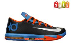"Nike KD VI/6 ""Away"" (Kevin Durant) - Chaussures Nike Baskets Pas Cher Pour Homme 599424-004"