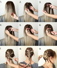 hair styles for long hair braided hair