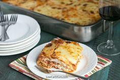 low carb cabbage lasagna