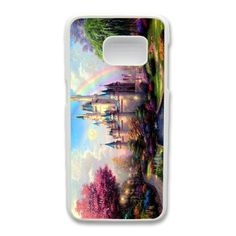 Thomas Kinkade New Day At Cinderella Castle Phone Cover Case For Samsung Galaxy S7 Edge Cell Phone White CGD204374 -- Awesome products selected by Anna Churchill