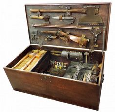 Red Baron Antiques brings us this interesting vampire killing kit . It's filled with a whole lot of stuff, which actually works to its detr...