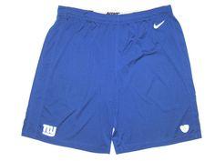 Kerry Wynn 2014 Rookie Training Worn Official Blue New York Giants Nike  Dri-Fit Shorts 6230e4d4f