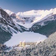 Fairmont Chateau Lake Louise - Lake Louise, Alberta, Canada.