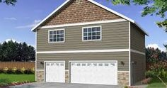 2 story garage images - Google Search