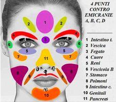 Il viso riflette la salute del tuo corpo. Ecco la mappa del tuo benessere o malessere