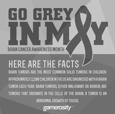 May is Brain Cancer Awareness Month
