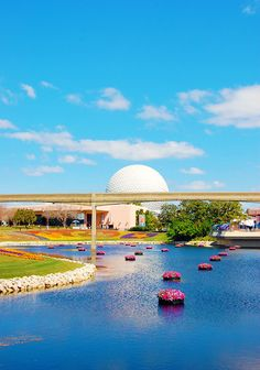 Epcotjust seeing the spaceship earth my trip begins