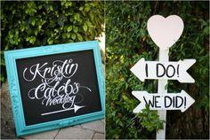 Wedding signs   rusticweddingchic.com