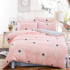 Solstice Home Textile Fashion Pastoral Style 4 Pcs Bedding Set Bed Sheet+duvet Cover+pillowcase Cloud Bed Cover Bedlinens 5 Size 1