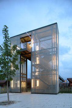 Sistemas de Fachadas | El uso de la malla metálica arquitectónica en la fachada | http://sistemasdefachadas.com