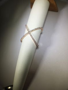 Ritz Jewelers: The Criss Cross Ring Has Become a Huge Hit in The Jewelry Industry. To Change It Up, We Made Them In Rose Gold!!!