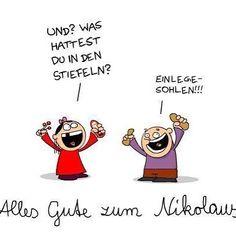 Na was hat Euch der Nikolaus gestern gebracht?(Das Bild erreichte mich gestern via WhatsApp-leider ohne Quellenangabe)#hoelschuh #emsdetten