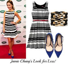 Jamie Chung's Look for Less