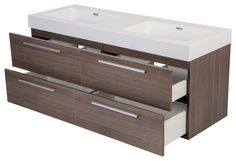 Bathroom vanities 54 double sink