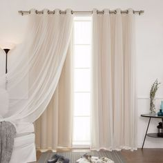 MIX MATCH CURTAINS Adorn Your Windows And Home With These Energy Efficient Mix Match Blackout Thermal Curtains That Keep The Heat In