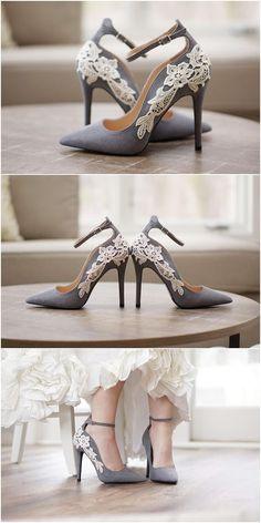 464121d34f0ba 45+ Chic Blue Wedding Shoes for Bridal