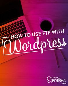 Exactly how I use FTP with WordPress, and why you should use it too. Plus, I'm sharing three important ways you can fix your site with FTP. Wordpress Template, Wordpress Plugins, Entrepreneur, Business Website, Online Business, Layout, Web Design Tutorials, Blogging For Beginners, Blog Tips