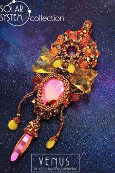 Кулоны, подвески ручной работы. Ярмарка Мастеров - ручная работа. Купить Venus / Solar System collection. Handmade. Рыжий