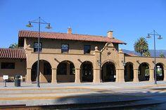Santa Barbara Train Station