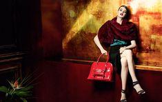 Julia Saner for Karen Millen Fall 2011 Campaign by Sharif Hamza