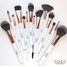 A Reminder #doseofcolors Luxury Synthetic Brush #Collection ✨synthetic brushes mad... | Use Instagram online! Websta is the Best Instagram Web Viewer!