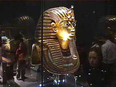 Tutankhamun's Death Mask (Rare 360 view)                                   YouTube