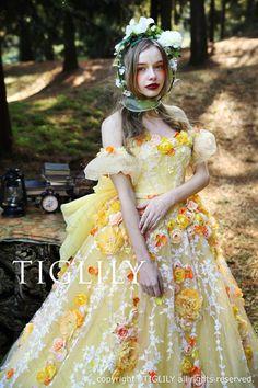 【メリーMerry】(c165)TIGLILYティグリリィカラードレス
