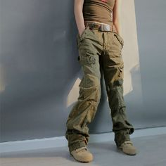 Skinny jean-fit cargo pants.or in black would be the other best ...