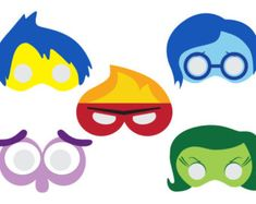 Sponge Printable Masks squid mask starfish by HappilyAfterDesigns